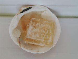 sabonete transparente com mel